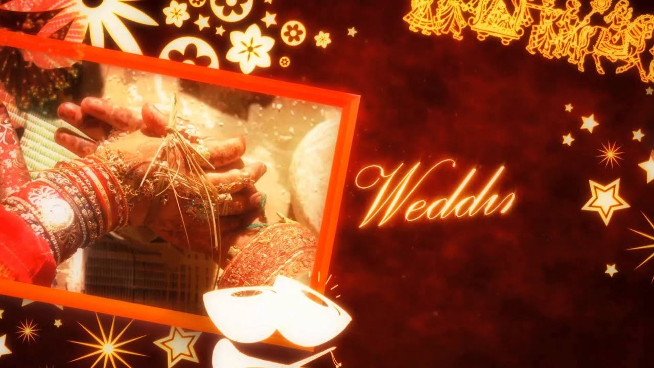 Awesome traditional Wedding Invitation for Hindu wedding, video ...