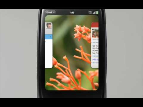 HP/Palm WebOS - Multi-tasking Made easy, Featuring the Palm Pre Plus
