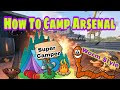 How To Camp The Map Arsenal    Camping School Episode 8