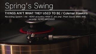 大宰府 Jazz工房 Nishimura 店主:西村彰 Spring's Swing/ Coleman Hawk...