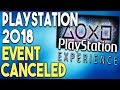 PlayStation 2018 Event CANCELED and HUGE PS4 Open World Game RUMOR