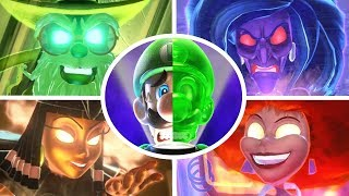 Luigi's Mansion 3 - All Bosses + Secret Boss (2 Player)