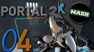 "Portal 2 ""Custom Maps"" [60fps] - mit MASH-MAve #04 -Let"