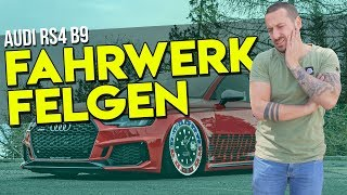 HOW DEEP? // AUDI RS4 B9 - FAHRWERK + FELGEN / VOSSEN