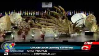 chogm 2009 opening cultural ceremonies at the new national academy of the performing arts napa