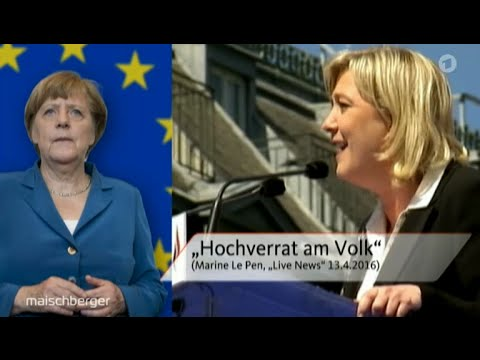 Die EU schafft sich selber ab - 29.06.2016 Maischberger - Bananenrepublik
