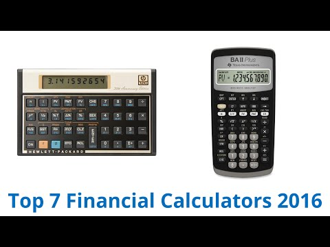 7 Best Financial Calculators 2016