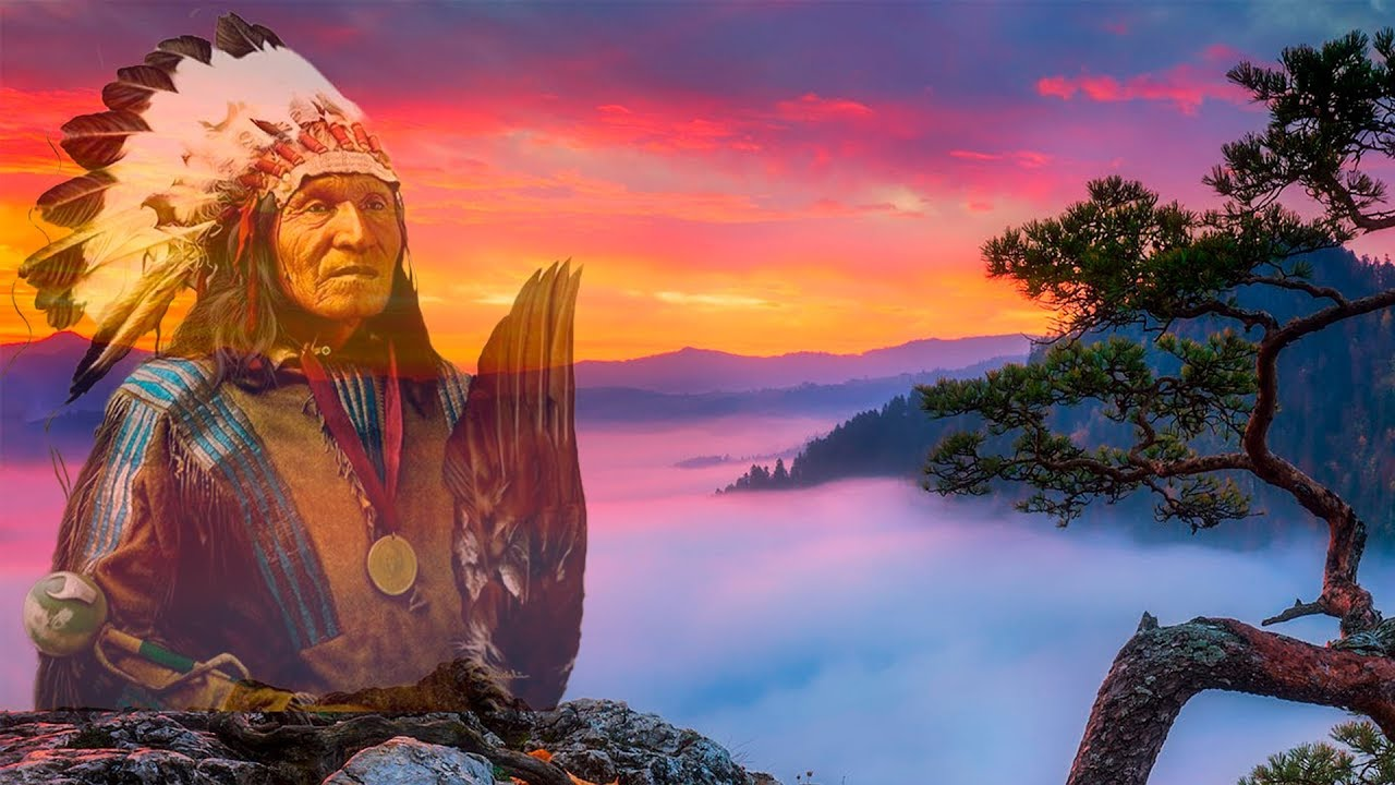 Native American Music Tribal Drums Flute Music For Deep Meditation Youtube