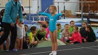 Первенство ДЮСШ по спортивной акробатике 3 юн разряд 1е упражнение (девочки)
