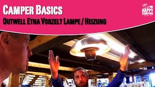 Outwell Etna Vorzelt Lampe & Heizung | Happy Camping