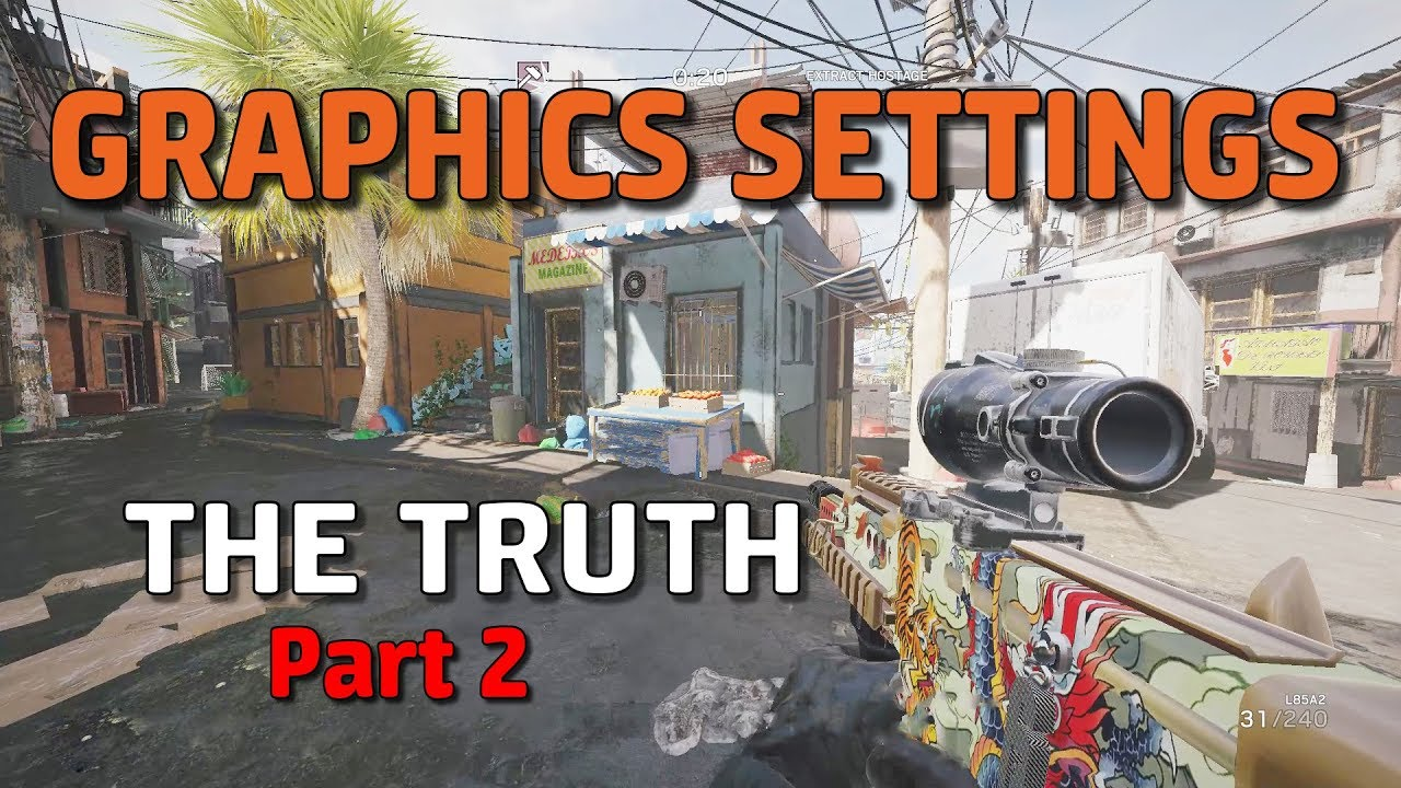 The Truth About Graphics Settings Pt 2 (RIP Temporal Filtering)