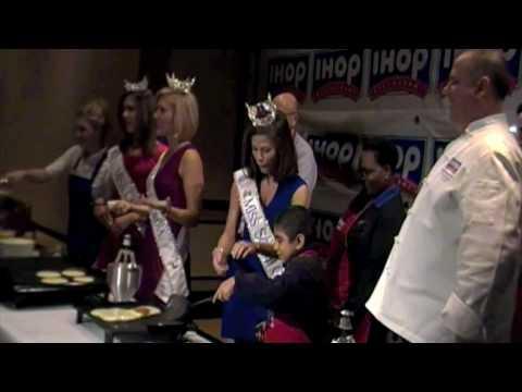 IHOP Pancake Breakfast at Miss America 2010