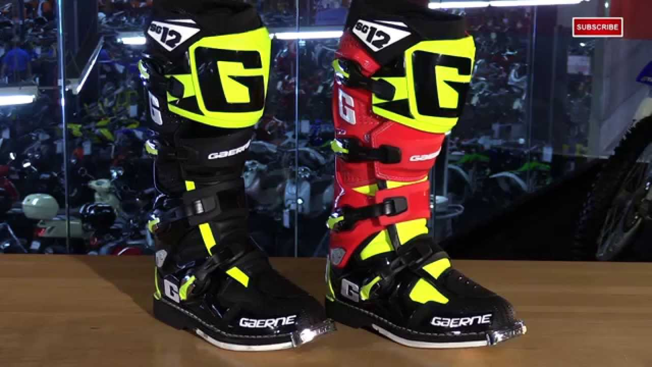 Gaerne Boots Sg12 >> Gaerne SG12 Limited Edition Motorcycle Boots Review - YouTube