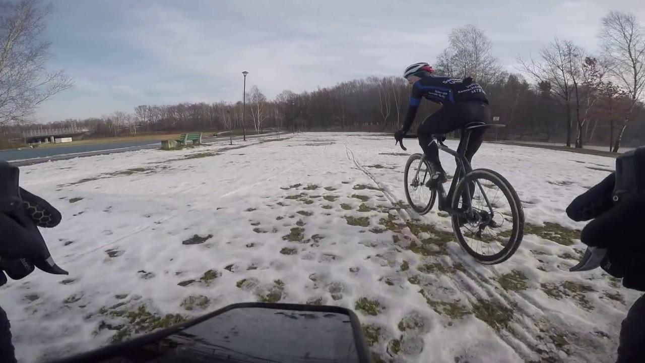 Objazd trasy IV edycji Pucharu Polski CX w Katowicach z Markiem Konwą |Cyclocross Polska|