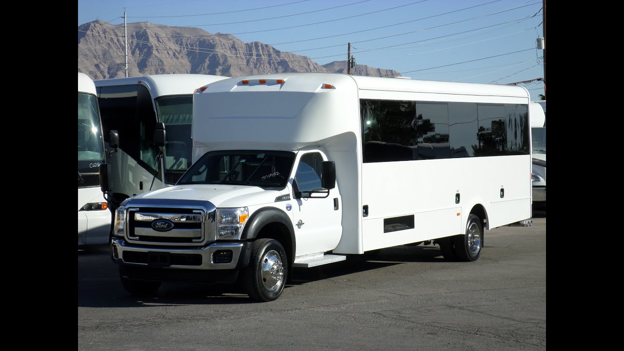 Ford F 550 For Sale >> Used Bus For Sale - 2013 Ford F550 Glaval 29 Passenger Bus With Rear Luggage S70522 - YouTube
