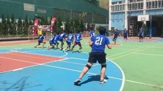 2017 全港學界閃避球錦標賽 中學男子組 沙循 對 培聖