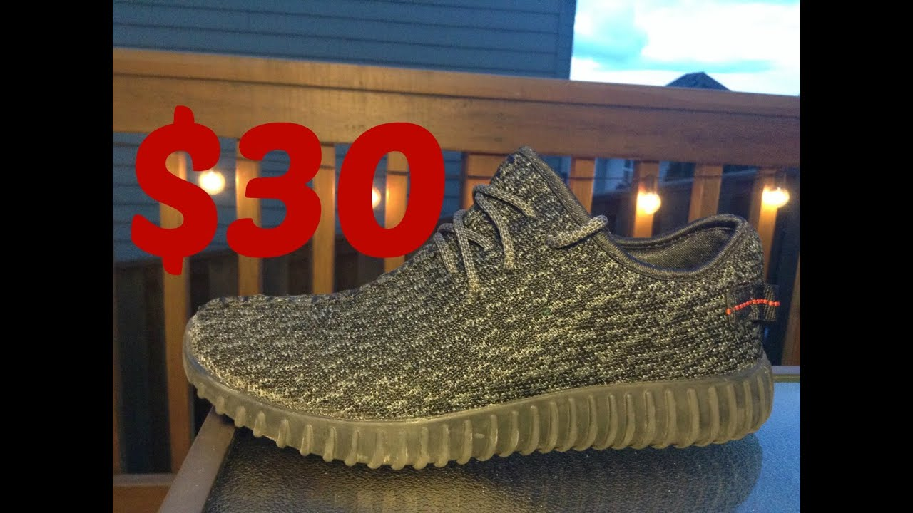 innovative design d8f6e 88611 Amazon $30 Yeezy Unboxing/Review