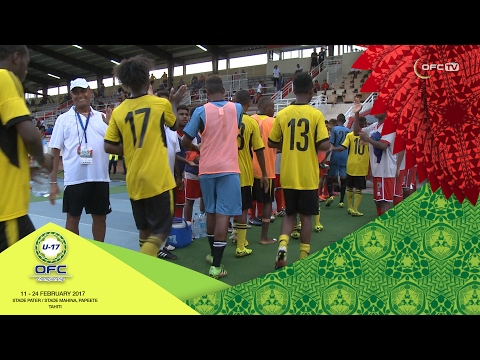 2017 OFC U-17 CHAMPIONSHIP | MD5 Vanuatu v New Caledonia Highlights