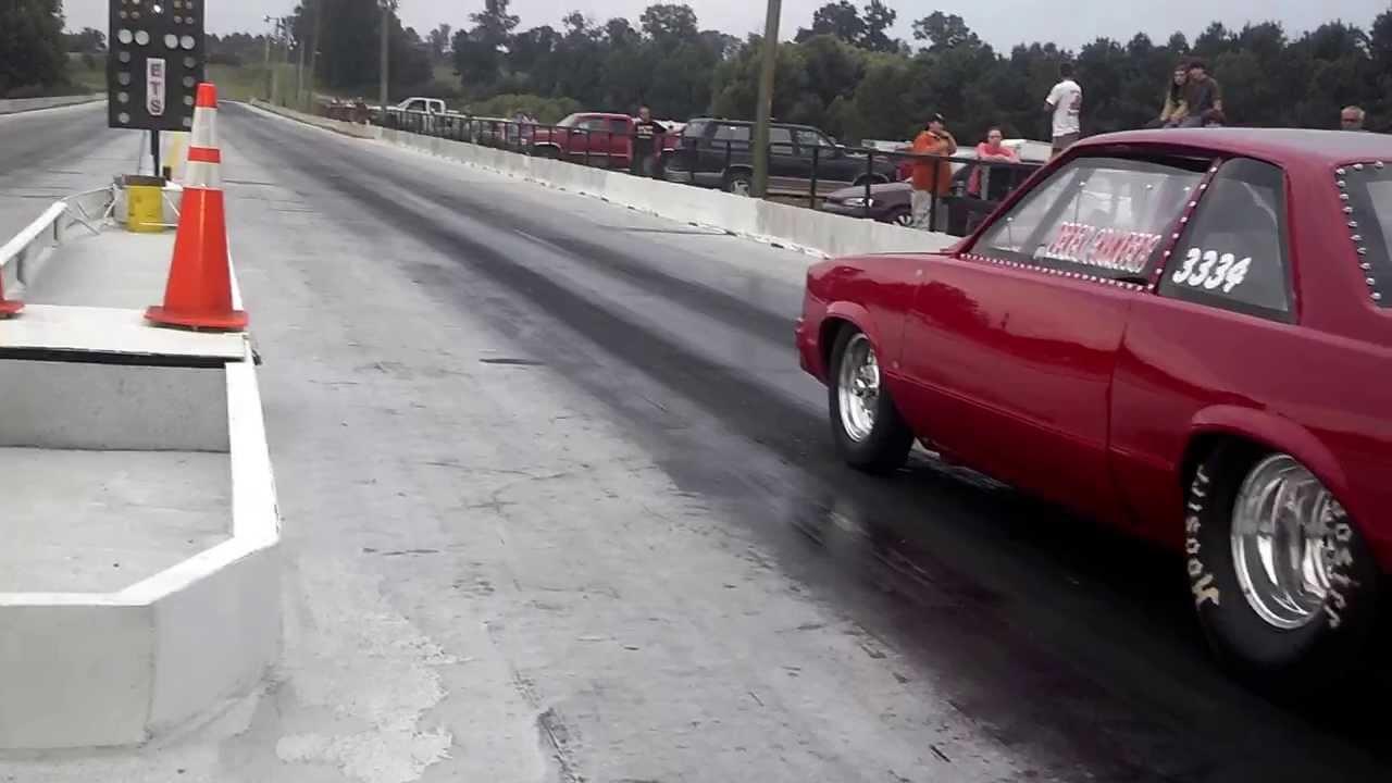 Derek 78 Malibu drag car - YouTube