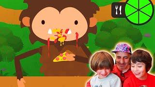 Dani Y Evan En Sneaky Sasquatch De Apple Arcade - Big Foot Roba Comida