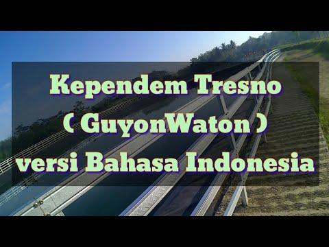 Kependem Tresno ( GuyonWaton ) | Versi Bahasa Indonesia ( Cover Lirik )