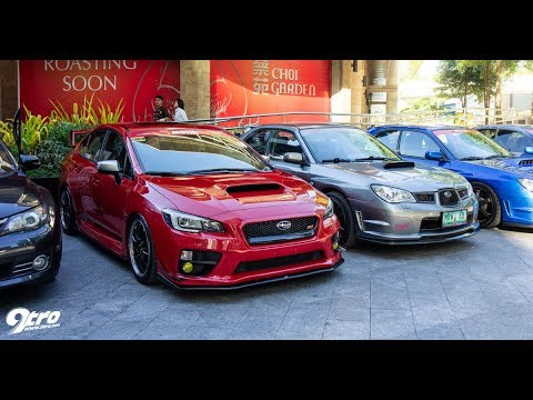 2018 Subaru Wrx Sti Club Philippines 1st Annivesary Meet Youtube