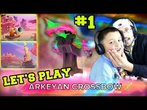 Let's Play/Fail the Arkeyan Crossbow Battle Pack Team Survival Arenas (pt.1) Skylanders Swap Force