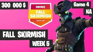 Fortnite Fall Skirmish Week 5 Game 4 NA Highlights (Group 2) - Royale Flush