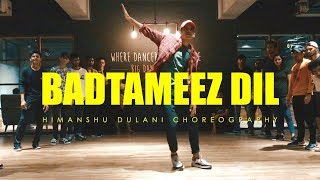 Badtameez Dil - Yeh Jawaani Hai Deewani || Himanshu Dulani Dance Choreography