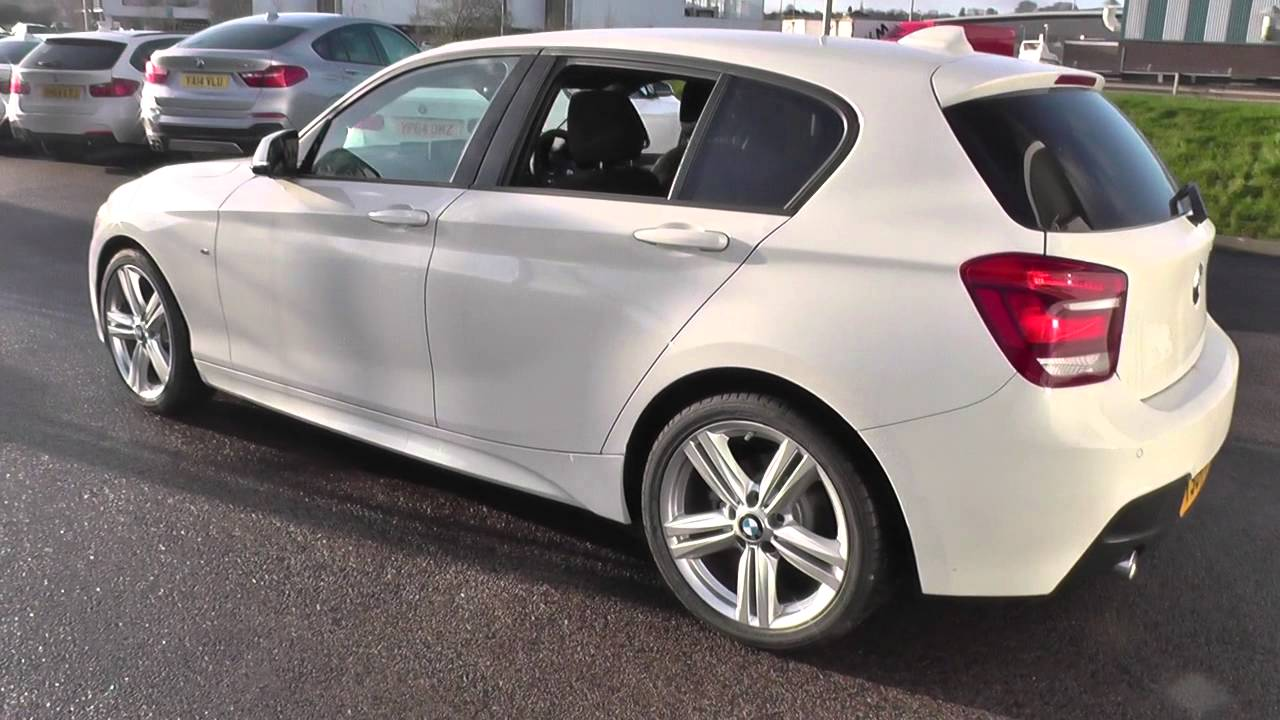 bmw 1 series 116d m sport 5dr step auto nav u12651 youtube. Black Bedroom Furniture Sets. Home Design Ideas