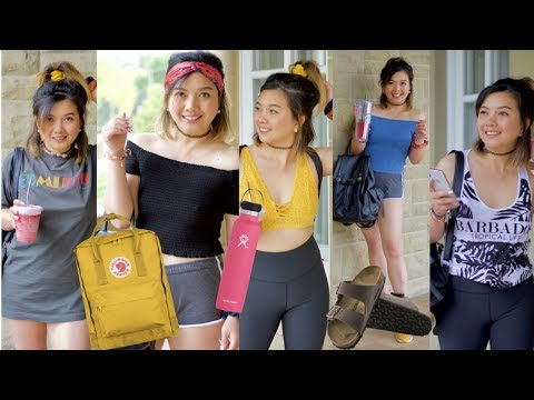 How to be the VSCO GIRL in one day | BASIC VSCO Transformation Outfit | Starter Pack | Pearl Yao