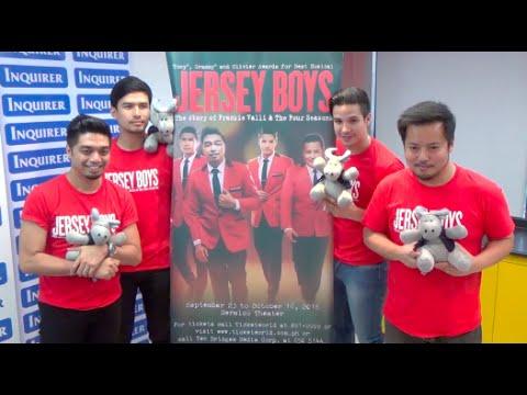Markki, Nyoy, Nino, Christian explain 'Jersey Boys' the musical