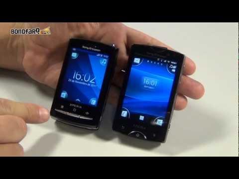 Sony Ericsson Xperia X10 Mini Pro vs. Sony Ericsson Xperia Mini Pro - Comparativo