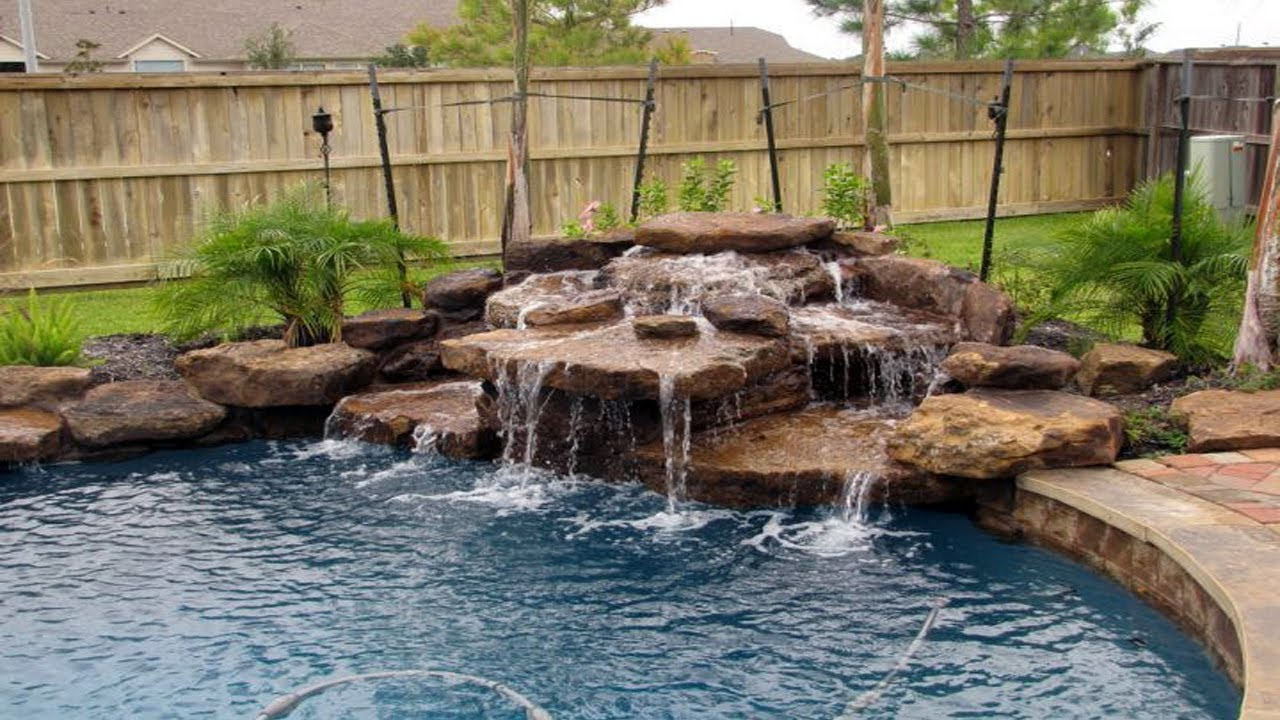 Breathtaking Pool Waterfall Design Ideas Youtube