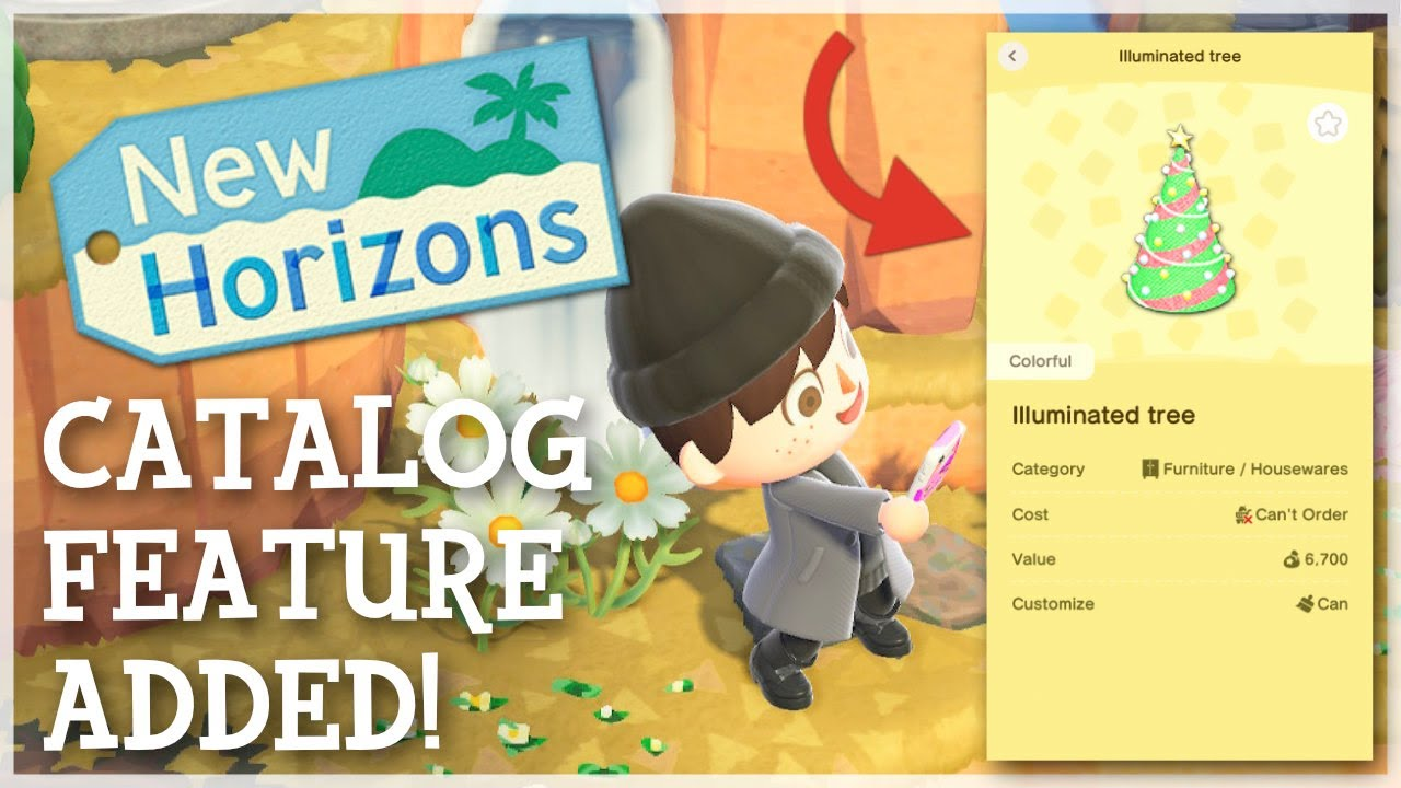 Animal Crossing New Horizons - NEW Catalog Feature Added (NookLink App)