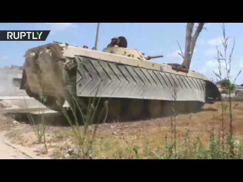 Tripoli-backed forces continue battle for Sirte, Libya