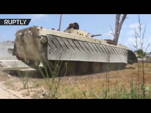 Tripoli-backed forces continue battle for Sirte, Libya