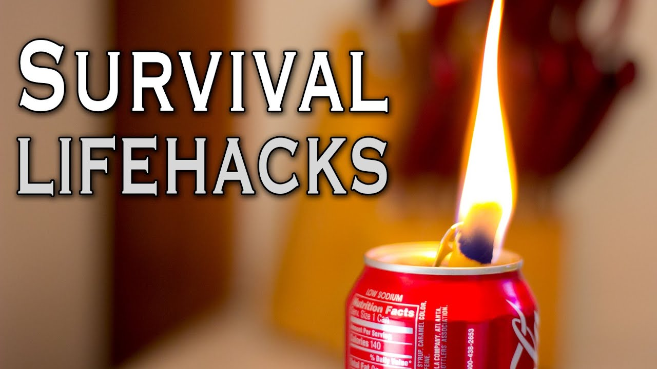 7 Survival Life Hacks That Could Save Your Life - YouTube
