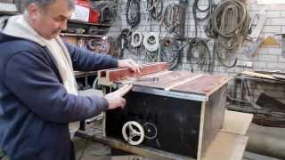 Упорная линейка на подшипниках для мини циркулярки\\Thrust bearings line mini circular saw