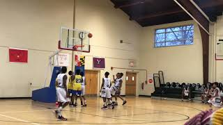 1/28/18 - Team L.A.B. vs District Heights- Marvin Guthrie - Coach Dayal