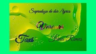 Taxi feat. Irina Rimes-Supradoza de dor [LYRICS versuri]
