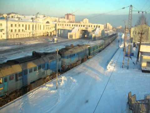 2М62У с пригородным Киров-Луза отправляется со ст. Киров