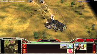Command and Conquer Generals zero hour 2v2 multiplayer with friends
