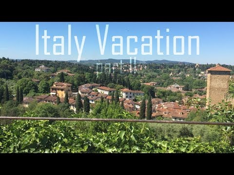 Italy Travel Vlog | Florence & Rome