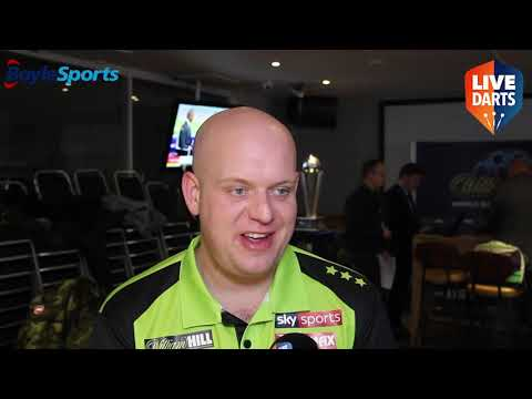Michael van Gerwen on King feud, Price rivalry, world title defence, Barney's farewell and more
