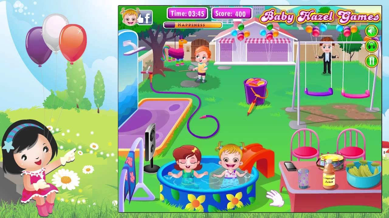 Baby Hazel Backyard Party - Gameplay HD - YouTube