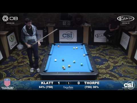 USBTC 8-Ball: Jason Klatt vs Billy Thorpe