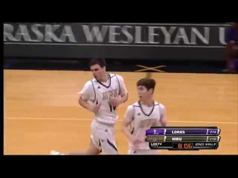 Nebraska Wesleyan vs.  Loras MBB Highlights