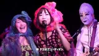 2013年11月23日 豆異℃ 大阪・中津・Vi-Codeのライブより。♪俺の背中に ...