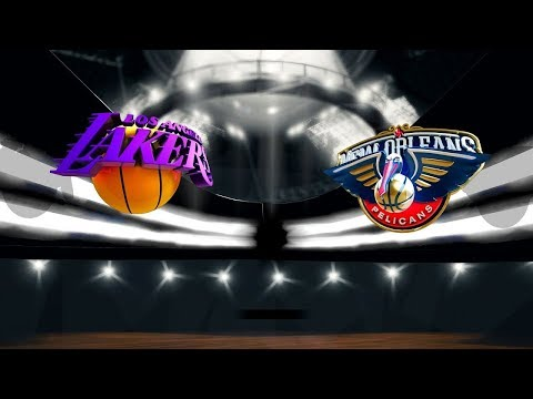New Orleans Pelicans vs Los Angeles Lakers Live
